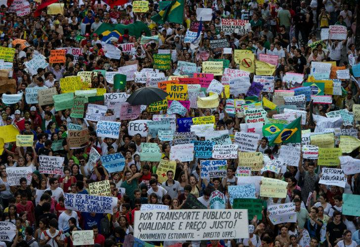 Protests Brazil 2013