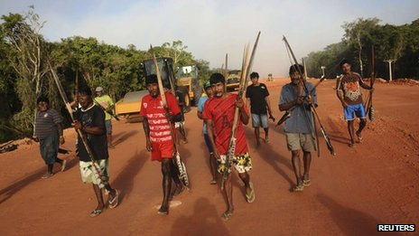 The dam project has angered the Indigenous communities