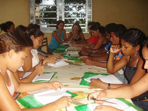 Training course for literacy teachers in Maranhão.