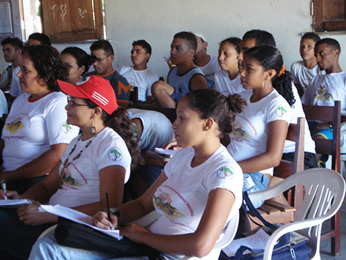 Technical course in community health developed in Maranhão.