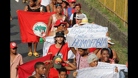 In the fight against homophobia, landless youth call for end to violence